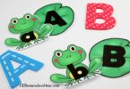 Super cute and free frog ABC Games for preschoolers and kindergarnters