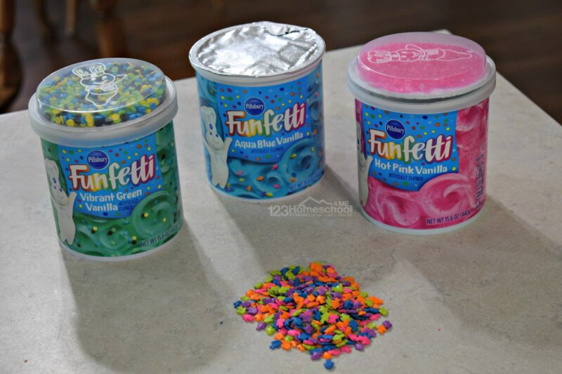 Amazing funfetti playdough recipe