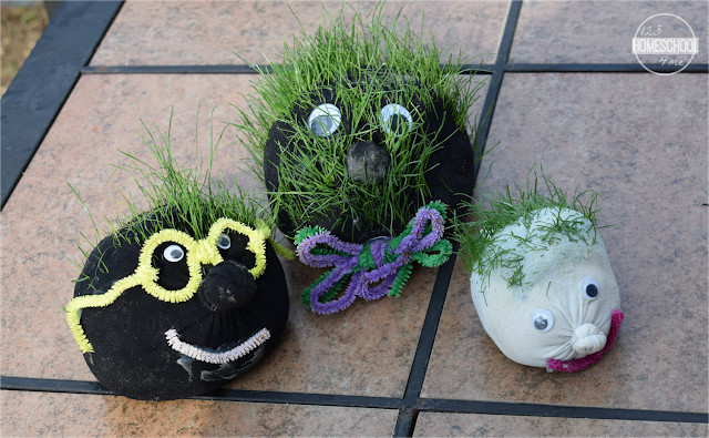 Grass Craft for Kids