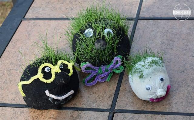 Grass Craft for Kids