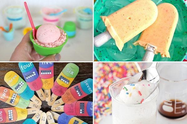Nothing says summer like cream and these popsicle and ice cream themed activities are loads of fun for preschool, kindergarten, and elementary age kids.
