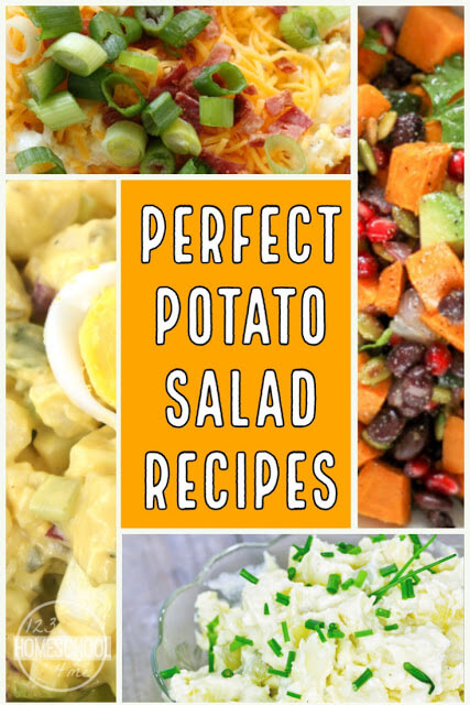 30 Mouthwatering Potato Salad Recipes - so many yummy, unique potato salad recipes your family will love to take on their spring and summer picnics #recipes #yummy #potatosalad #picnics