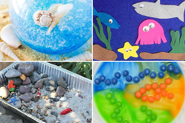 Tons of clever, fun, and unique Ocean Activities for kids of all ages