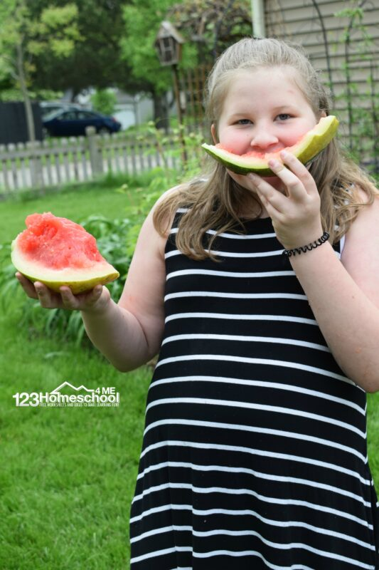 Super cool watermelon fun activity that is edible