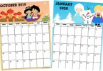 Cute Calendar Printable