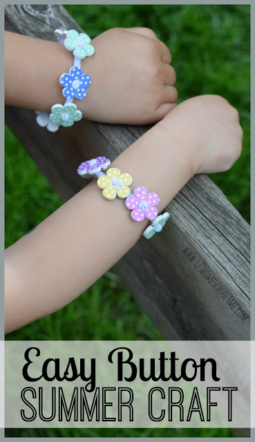 These button crafts are such fun, pretty, and easy-to-makebracelet craft ideas. Your preschool, pre-k, kindergarten, first grade, 2nd grade, 3rd grade,and 4th graders will love how they can turn this button craft for kids into a funkids friendship bracelets. Whether they use buttons and pipe cleaners to make matching bracelets, a gift for a friend, or fun summer activity for kids - this is a great addition to your summer bucket list for kids.