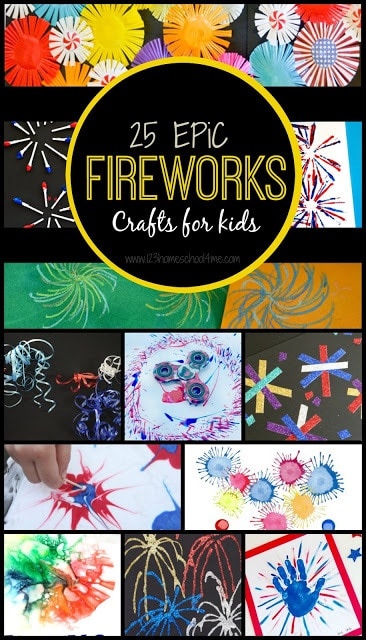 25 EPIC Firework Crafts