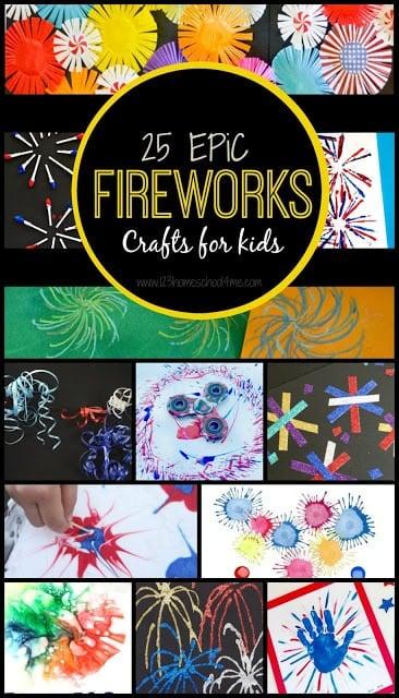 25 EPIC Firework Crafts