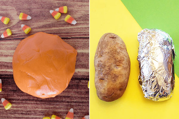 Fun, creative physics projects that use food!