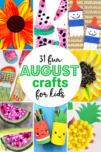31 August Crafts for Kids