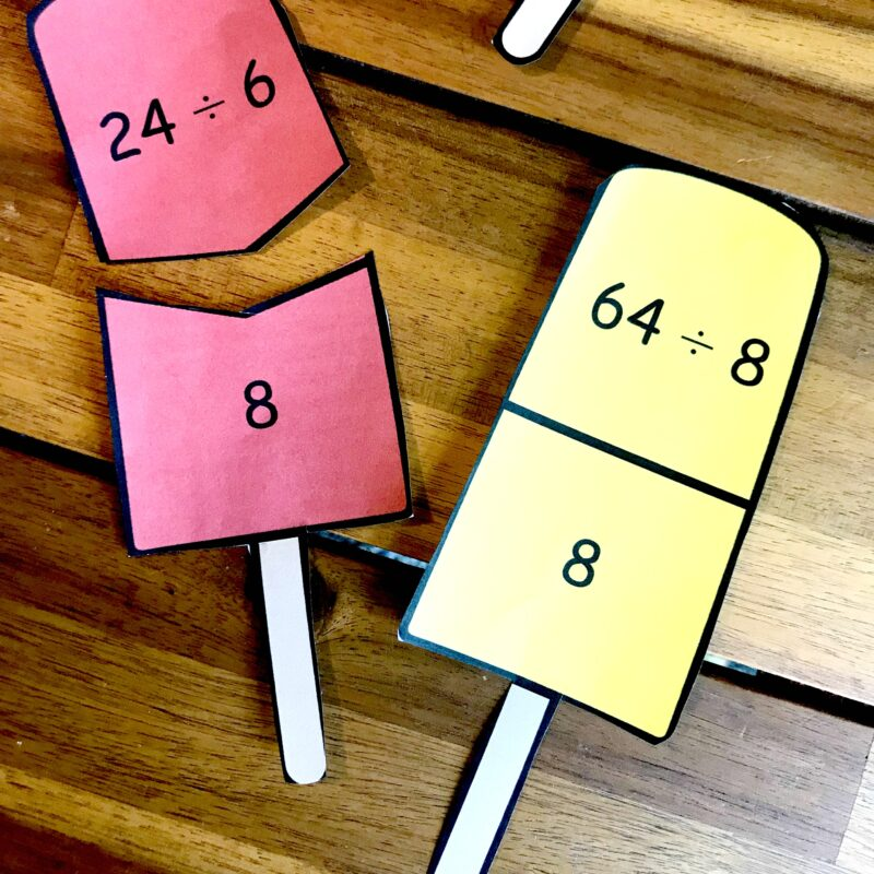 Ice Cream math activity perfect for summer learning