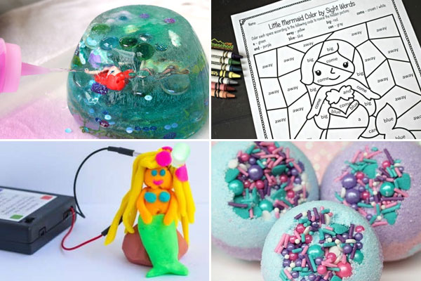 So many fun, clever, and unique mermaid activities perfect for summer