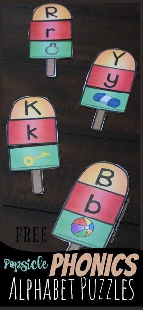 FREE Phonics Alphabet PUzzles