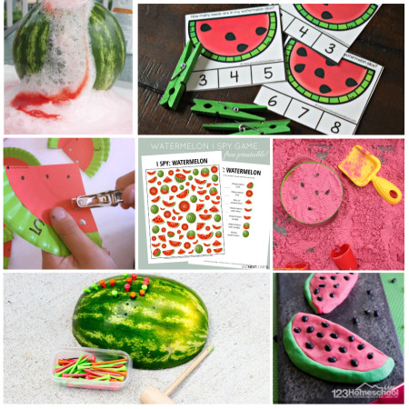 You will love these fun, engaging watermelon activities for preschool, kindergarten, first grade, and 2nd grade kids