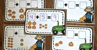 educational pumpkin activity for kindergarten age kids