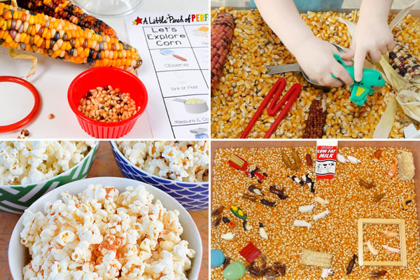 corn activities for kids of all ages