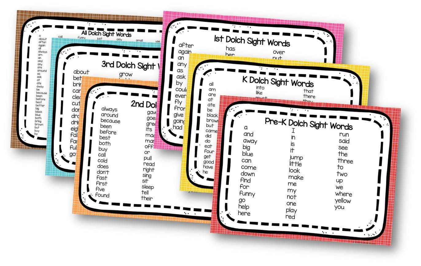 Free Printable Sight Words List - 20+ Free Printable Sight Word Worksheets For Kindergarten Pics