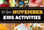 more fun november activiites for kids