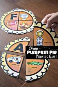 pumpkin alphabet phonics game