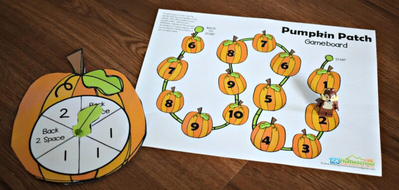 Fun pumpkin math activity for kindergarten and first grade kids to practice addition and math fluency in the fall