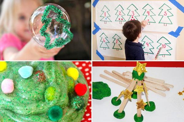 Christmas Tree activities for kids