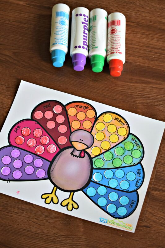 super cute clour matching games for toddlers