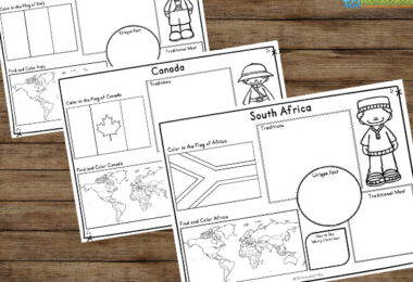 Children around the world worksheets
