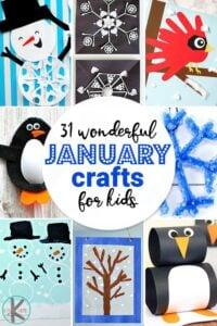 January crafts