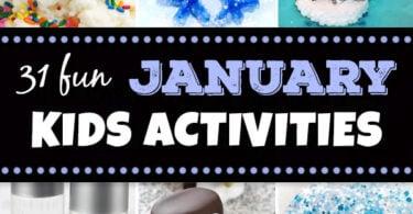 January Kids Activites