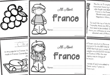 french coloring pages