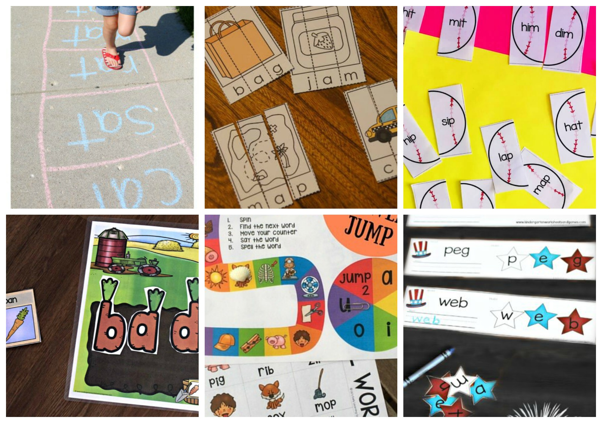 free priintable cvc word games that make learning fun