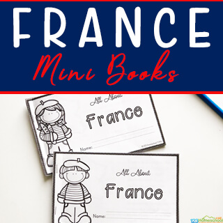 France Mini Book