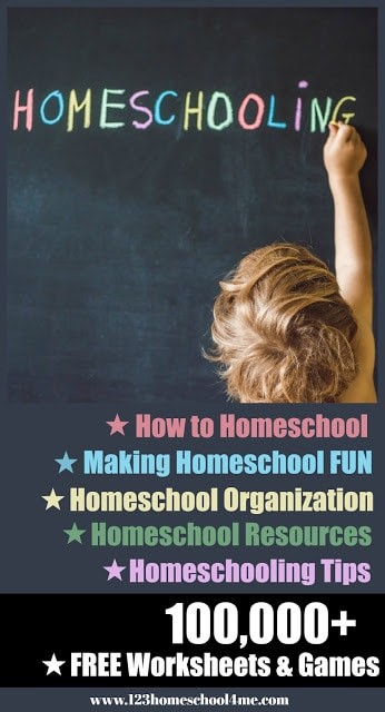 Should you homeschool? Here is tons of great information on how to homeschool, why homeschooling is good, and free homeschool resources and ideas