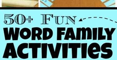 Help kids learn to read by exploring and playing with word families! These super cute, fun, engaging, and freeword family activities are a great way for young children to start off with their literacy journey. Theseword families activities are perfect for preschool, pre-k, kindergarten, and first grade students! We have free printableword family games that are sure to get your child excited about learning!