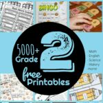 Grade 2 Worksheets and games to make practicing math, english, science, social studies, art, and more FUN!