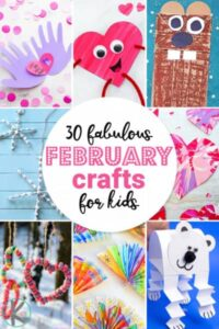 February Crafts for Kids