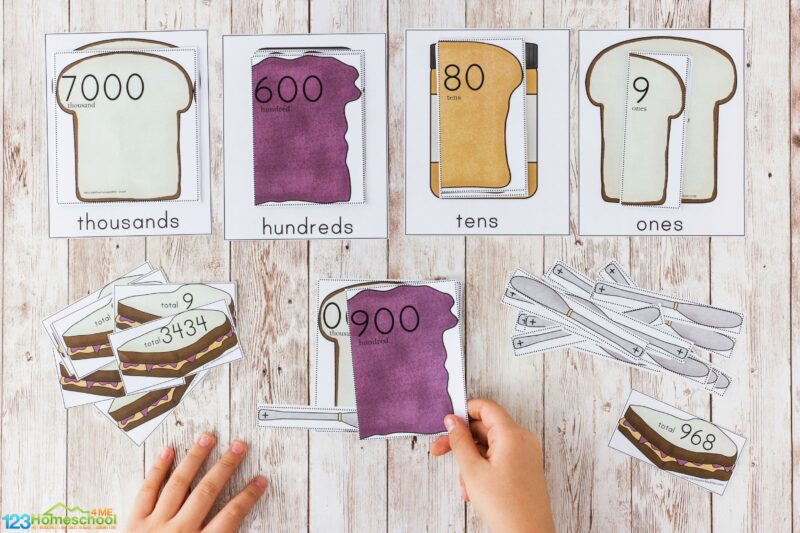 Place Value Interactive Games