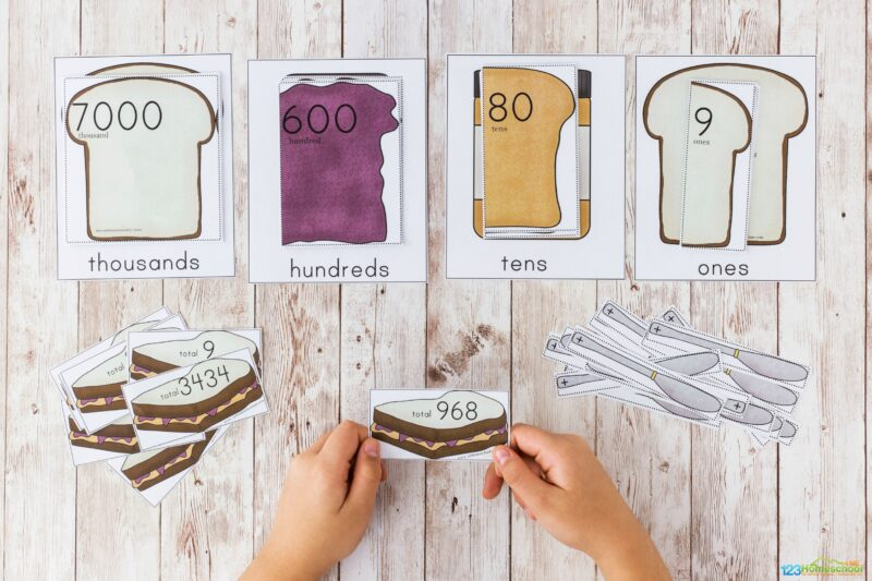 Place value games 4th grade