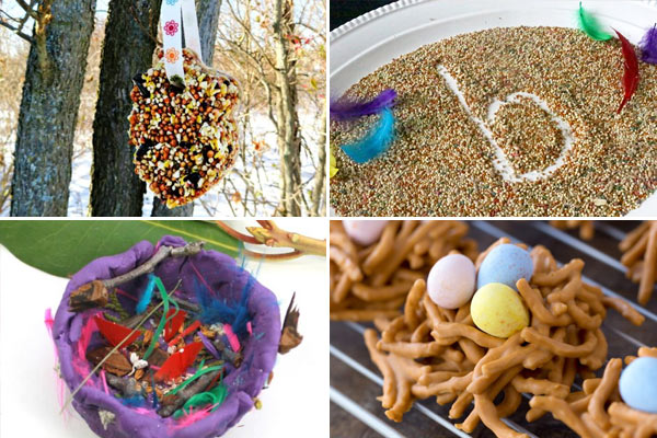 tons of fun, clever bird activites for spring
