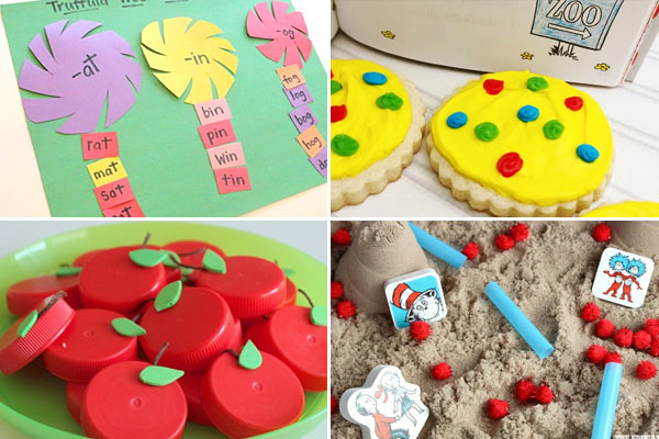 fun dr seuss kids activities for dr seuss birthday in march