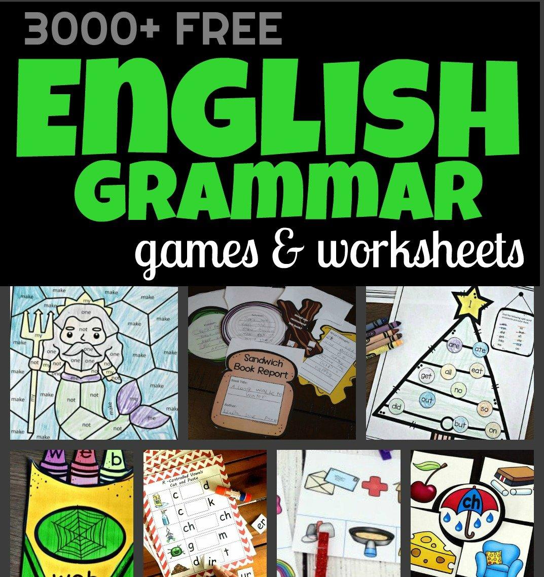 - 3000+ FREE Language Arts Worksheets & Games