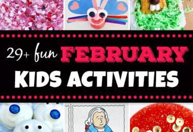 February Kids Activiites