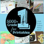 free 1st grade worksheets for practicnig math, english, science, history and more