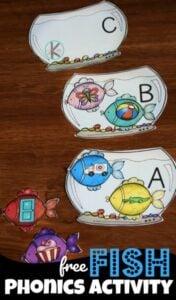 Fish PHonics Game
