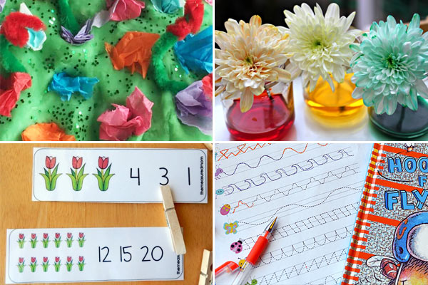 march activities for every day of the month to celebrate spring