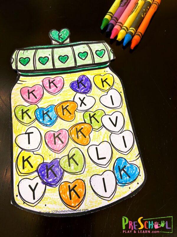 valentines day worksheets