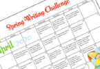 FREE April Writing Prompts - make practicing writing fun with these creative writing prompt ideas for spring! Use this printable calendar with kindergarten, first grade, 2nd grade, 3rd grade, 4th grade, and 5th grade students