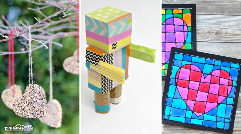 arts and craft ideas for kids of all ages