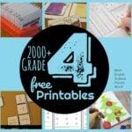 grade 4 worksheets, games & printables