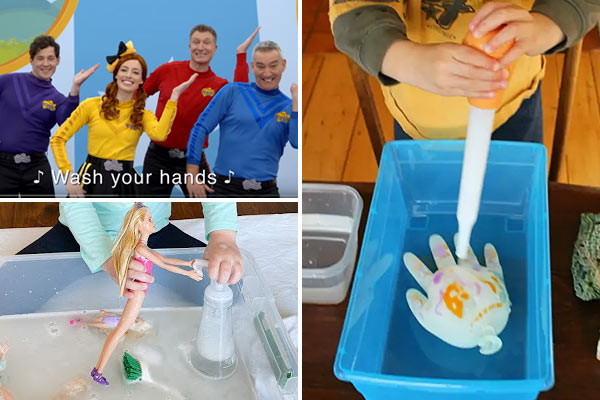 tons of fun, clever Hand Wash Activities for toddlers, preschoolers, pre k, kindergartners, and children of all ages at home and school